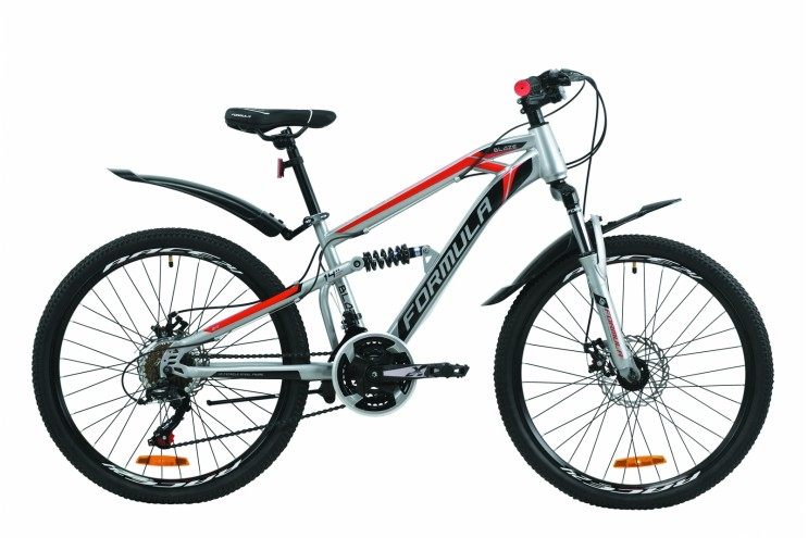 """Велосипед горный  24"""" FORMULA BLAZE DD 2020"""